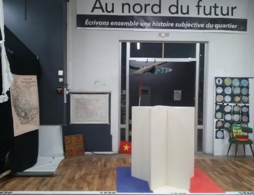 Au nord du futur : création d'une installation artistique
