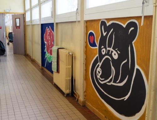 Du graffiti au CHU